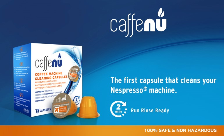 The first Capsule that cleans your Nespresso Machine