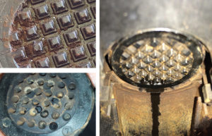 washerplate is the dirtiest part of your nespresso coffee machine