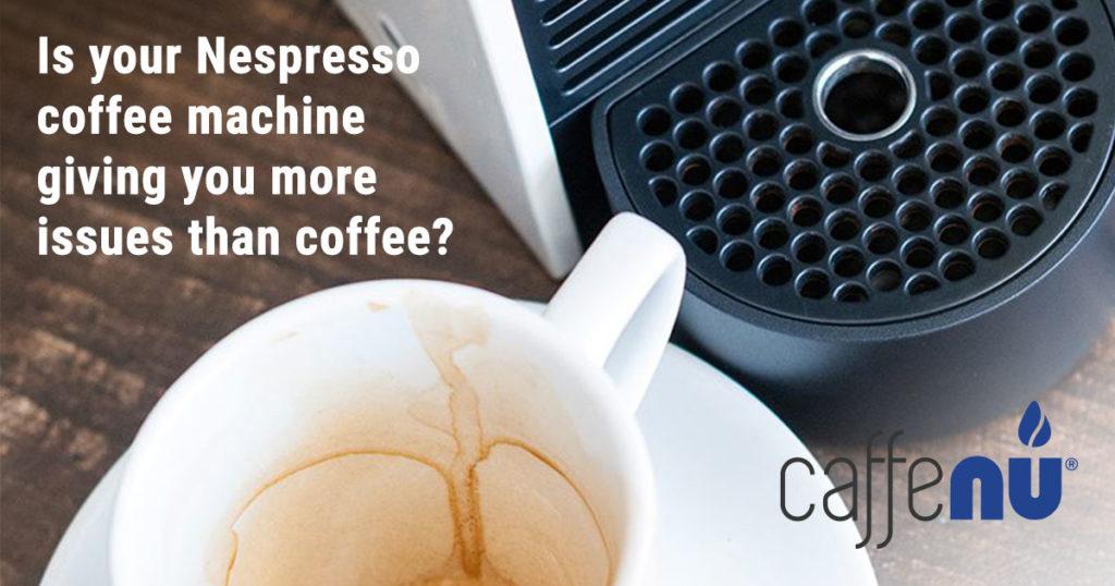 nespresso machine needs a clean