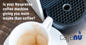 nespresso machine needs a clean