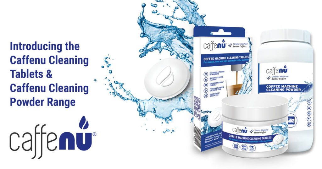 Our New Caffenu Cleaning Tablets And Cleaning Powder Are