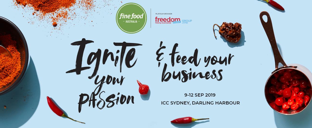 Fine food Australia banner 2019